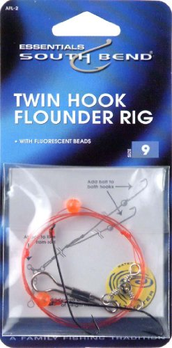 Hurricane Twin Hook Flounder Rig (Flounder Fishing Rigs)