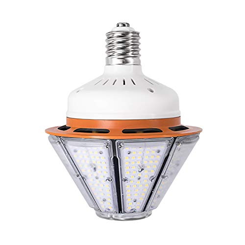 150W LED Corn Light Bulb for Indoor Outdoor Large Area-E39 19500Lm 6000K Cool White,for Street Lamp Gymnasium Garage Factory Warehouse High Bay Barn Porch Backyard Garden Super Bright (150) ()