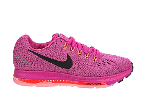 Nike Womens Zoom All Out Low Running Trainers 878671 Sneakers Shoes (US 6.5, fire Pink Black Bright Mango - Running Fire Shoe Road