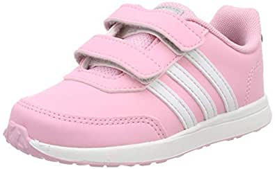 adidas Australia Baby Girls VS Switch 2 CMF Trainers, True Pink/Footwear White/Grey, 3 US