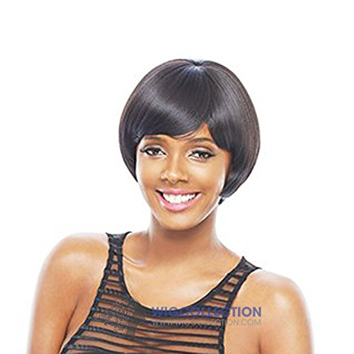 Janet Collection Wigs KISS PERM TED (OET1B/SILVER)