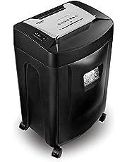 Duronic PS591 Destructeur de Documents de 33 litres pour 20 Feuilles de Papier A4 - Coupe croisée pour Un Maximum de sécurité - Permet conformité avec RGPD – pour Papier, disques et Cartes bancaires