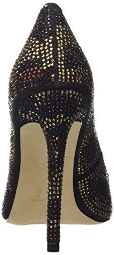 Steve Madden Pizazzz, Women's Court Shoes Or (Gold Multi)
