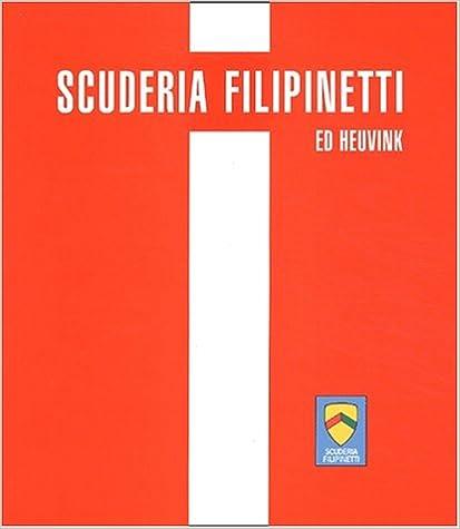 Livres gratuits Scuderia Filipinetti. Histoire d'une écurie suisse pdf epub