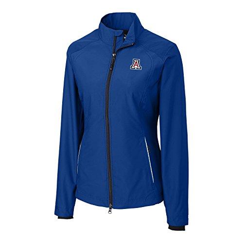NCAA Arizona Wildcats Adult Women CB Weathertec Beacon Full Zip Jacket, X-Large, Tour (Tour Zip Jacket)