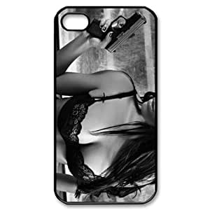 Sexy girl with gun iPhone 4/4s Case Back Case for iphone 4/4s