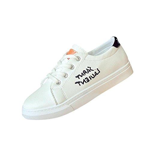 Sneaker damen Dasongff Mode Frauen Einfarbig Skate Schuhe Gym Schuhe Turnschuhe Laufschuhe Freizeitschuhe Schwarz