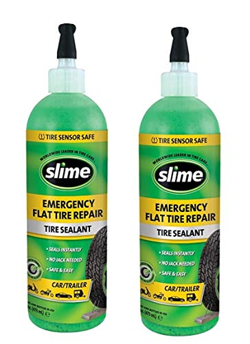 Slime Value Size 10011 Tubeless Tire Sealant 16 Ounce 2 Pack