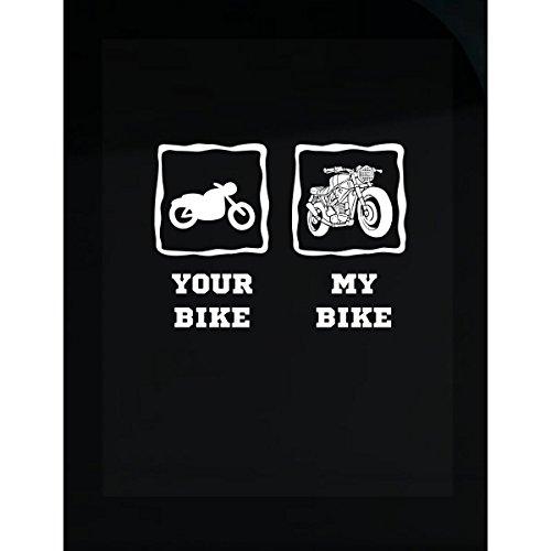 Your Bike My Bike Biker Gang Our Rides Love Bikes Typography - - Gang Cuts Biker