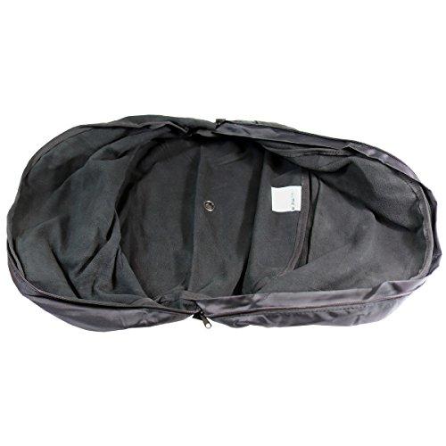 Fulmer AF-HELBAG05, Helmet Bag -Fleece Lining - Black by Fulmer (Image #2)