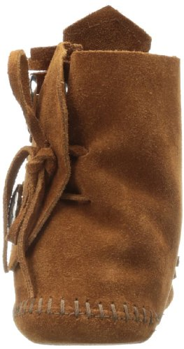 Minnetonka Two Button 432 - Botas Mocasin Mujer Marrón (Brownbrown)