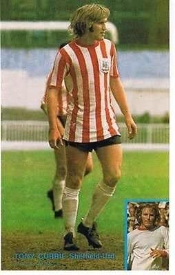 Football League Review Magazine Sheffield United TONY CURRIE player picture