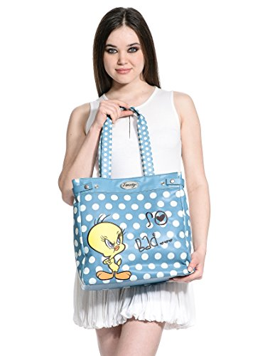 Hoy Collection Borsa A Spalla Tweety So Bad Blu Unica