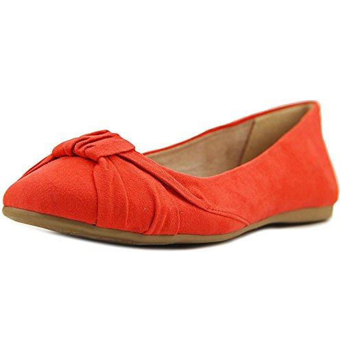 Style & Co. Womens Audreyy Suede Closed Toe Ballet Flats Coral YDGhmpYJ