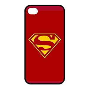 the Case Shop- Super Man Superman Super Hero TPU Rubber Hard Back Case Silicone Cover Skin for iPhone 4 and iPhone 4S , i4xq-849