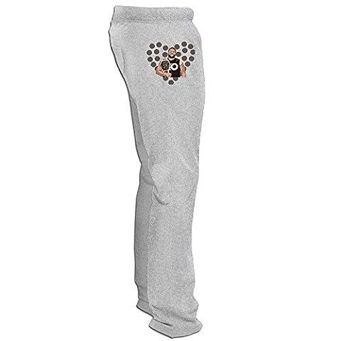 Texhood MEN'S Kevin Owens Shorts Running Pants Size L (John Cena Pants Belt)