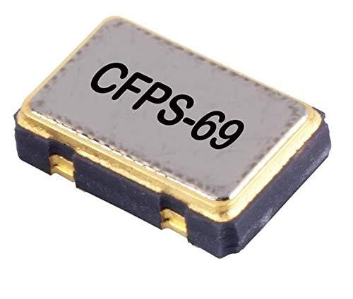 Standard Clock Oscillators 10.0MHz 5.0 x 3.2 x 0.95mm , Pack of 100 (LFSPXO009584Bulk)