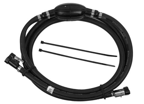 "OEM Evinrude Johnson BRP 5/16"" 8' EPA Compliant Hose and Bulb Assembly - 5008609 primary"