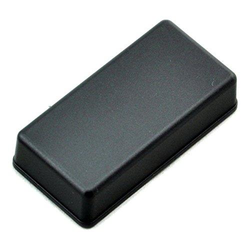 electronics-salon Pequeñ o Escritorio de plá stico caja de almacenaje, negro, 81 x 41 x 15 mm, alta calidad. 81x 41x 15mm