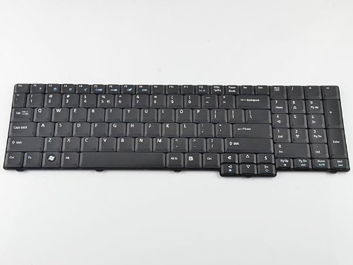 Eathtek Replacement Keyboard for Acer Aspire 9300 9400 9410 9410Z 9420 9920 9920G 7000 7100 7110 7220 7320 7520 7520G 7700 7700G 5235 5335 5335Z 5355 5535 5735 5735Z 5737Z series Black US Layout