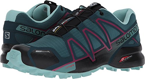 Salomon Women's Speedcross 4 CS W Mountaineering Boot, Mallard Blue, 8 M...