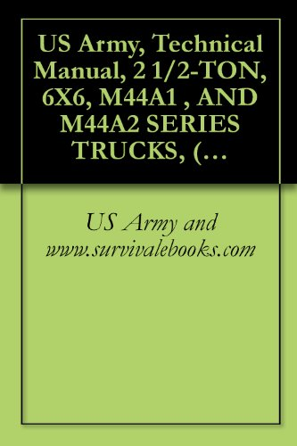 US Army, Technical Manual, 2 1/2-TON, 6X6, M44A1 , AND M44A2 SERIES TRUCKS, (MULTIFUEL), TRUCK, CARGO: M35A1, M35A2, M35A2C, M36A2; TRUCK, TANK, FUEL: ... POLESETTING: M764, TM 9-2320-209-10-2, ()