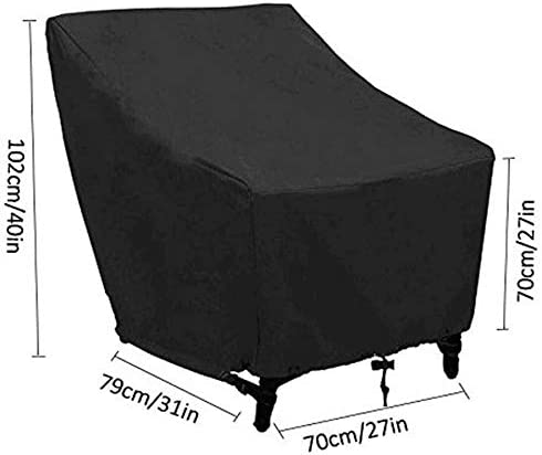 Funda impermeable para silla de jard/ín o silla de jard/ín Monland