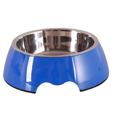 2 M 2 M Pet Bowls, Melamine pet Bowls Pet Supplies Cats and Dogs, pet Food, Dual-use, Stainless Steel Bowl, pet Food Bowl, Dog Bowl (color   2, Size   M)