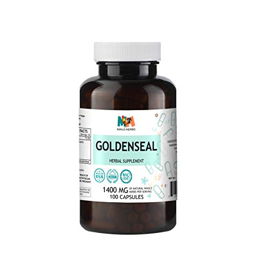 Goldenseal Capsules Serving Hydrastis Canadensis product image