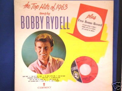 Price comparison product image THE TOP HITS OF 1963 sung by BOBBY RYDELL CAMEO LP (C-1070) WITH BONUS 45 R.P.M.