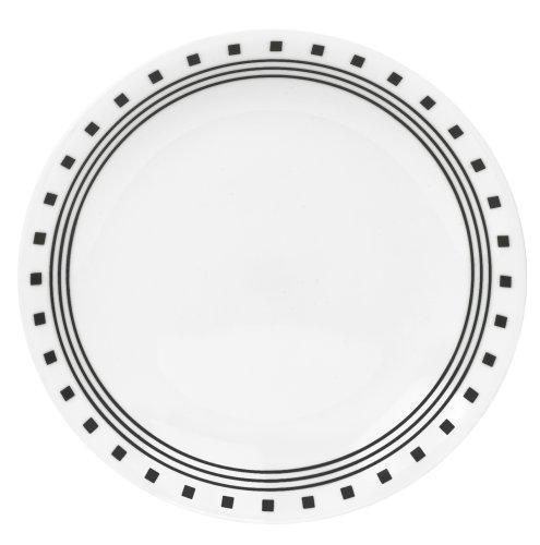 Corelle Livingware 8-1/2-Inch Luncheon Plate, City Block