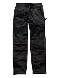 Mens Dickies Multi Pockets Safety Workwear Cargo Trousers