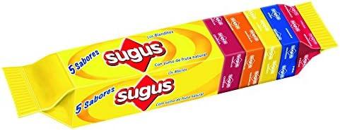 Sugus - Caramelos blandos sabor a frutas (stick multisabor con 11 caramelos) - [Pack de 9]: Amazon.es: Alimentación y bebidas