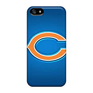 Durable Cell-phone Hard Cover For Iphone 5/5s With Customized Beautiful Chicago Bears Skin SherieHallborg