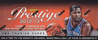 2012/13 Panini Prestige Basketball box (24 pk HOBBY)