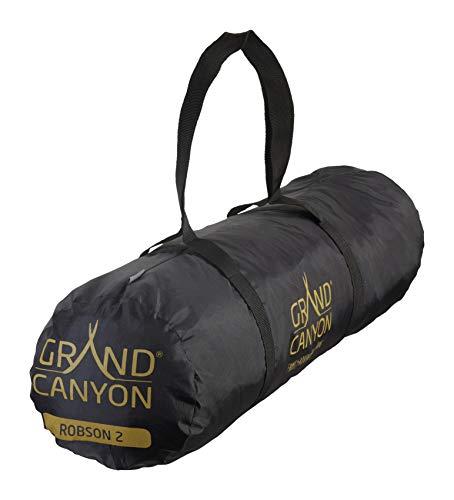 4181RuALtnL Grand Canyon Tunelzelt Robson 2 Personen Zelt Familien Camping Leicht Vorraum