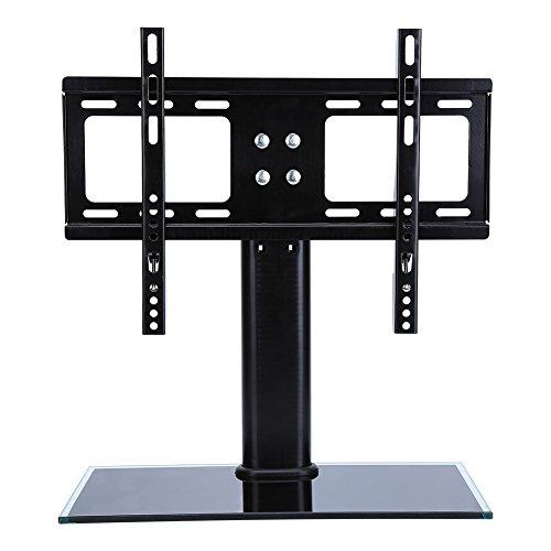 UNIVERSAL TV Stands Desktop, Adjustable LCD LED Plasma TV Flat Screens Mount Bracket D800 26