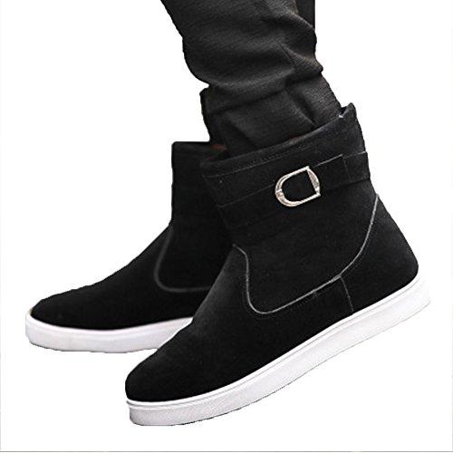 Men's Winter Comfort Comfort Comfort Fur Non-slip High Cut Flat Snow Boots B077NCZJHS Shoes a00f39