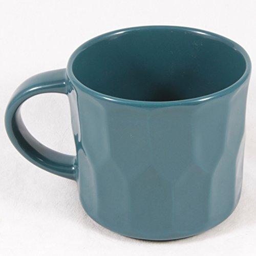 Stacking Blue Mug (Starbucks Peacock Stacking Mug, 14 Fl Oz)