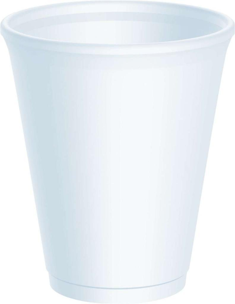 1000 x 7oz lnsulated Foam Poly Cups Polystyrene Catering Canteen Cafe Restaurant