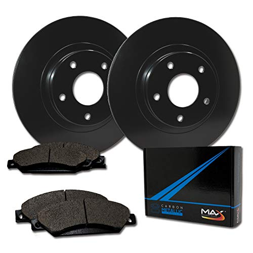 Max Brakes Front Elite Brake Kit [ E-Coated OE Rotors + Metallic Pads ] TA137001 | Fits: 1998 98 1999 99 Ford Ranger 2WD Models w/Rear Wheel ABS &10.28'' Front Rotors (Front Coil Spring Suspension) ()