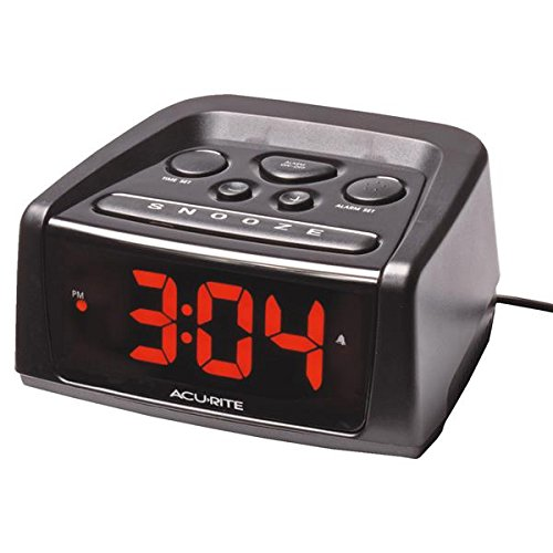 AcuRite Big and Loud Electric IntelliTime Alarm Clock -  BES