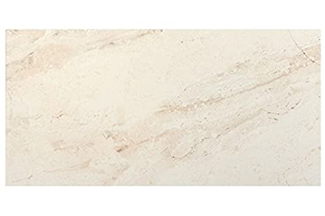 Campione di crema per piastrelle effetto marmo 30 x 60 cm
