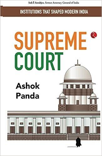 Institutions That Shaped Modern India: Supreme Court: Panda, Ashok:  9789390547043: Amazon.com: Books