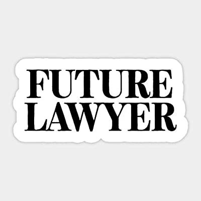 Future Lawyer - Sticker Graphic - Car Vinyl Sticker Decal Bumper Sticker for Auto Cars Trucks: Kitchen & Dining