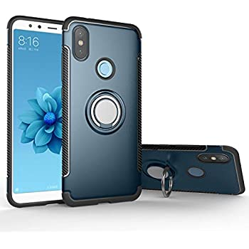 Amazon.com: Xiaomi Mi A2 Cover Hybrid DWaybox Rugged Heavy ...