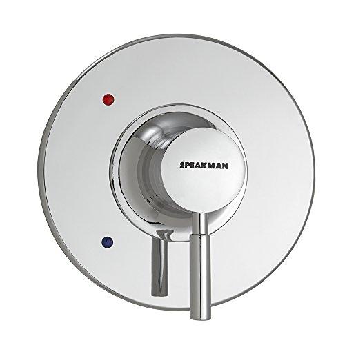 Speakman CPT-1000-UNI Neo Universal Shower Valve Trim Kit - Easy Shower Handle Replacement - Shower Kit Retrofits Many Modern Shower Valves, Polished Chrome