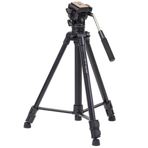 "Takama 66"" 3 Section Flip Video Camera Tripod withFluid Drag"