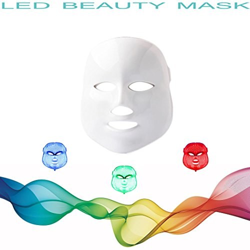 3D Phototherapy Color LED Mask Instrument Cold Light LED electronic Mask...