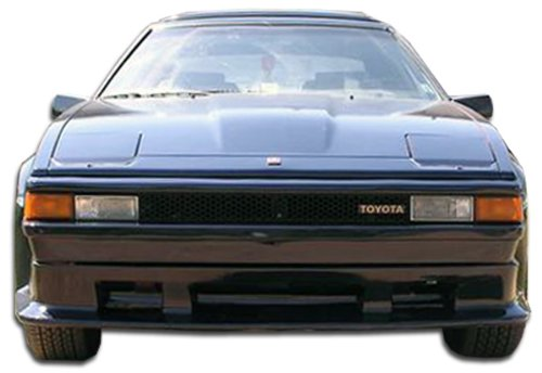 Extreme Dimensions Duraflex Replacement for 1982-1986 Toyota Supra F-1 Front Lip Under Spoiler Air Dam - 1 Piece (F1 Front Lip)